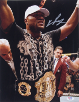 Quinton Jackson Signed UFC 11x14 Photo (PSA COA) at PristineAuction.com