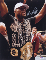"Quinton ""Rampage"" Jackson Signed UFC 11x14 Photo (PSA COA) at PristineAuction.com"