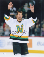 Mike Modano Signed Stars 11x14 Photo (JSA COA) at PristineAuction.com