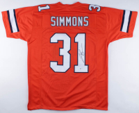 Justin Simmons Signed Jersey (Beckett COA) at PristineAuction.com