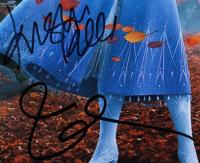 "Idina Menzel & Kristen Bell Signed ""Frozen II"" 11x14 Photo (Beckett Hologram) at PristineAuction.com"