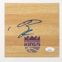 Buddy Hield Signed Kings 6x6 Floor Piece (JSA COA) at PristineAuction.com