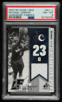 Michael Jordan 2003-04 SP Game Used Legendary Fabrics #MJL (PSA 8) at PristineAuction.com