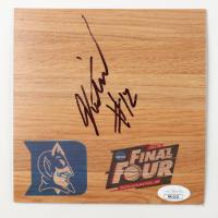 Justise Winslow Signed Duke Blue Devils 6x6 Floor Piece (JSA COA) at PristineAuction.com