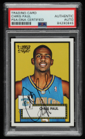 Chris Paul Signed 2005-06 Topps Style #154 RC (PSA Encapsulated) at PristineAuction.com