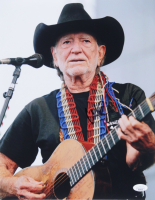 Willie Nelson Signed 11x14 Photo (JSA COA) at PristineAuction.com