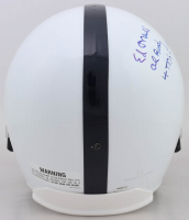 "Ed O'Neill Signed Full-Size Helmet Inscribed ""Al Bundy"" & ""4 Td's In 1 Game"" (Schwartz COA) at PristineAuction.com"