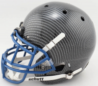 Daniel Jones Signed Full-Size Authentic On-Field Hydro-Dipped Helmet (Beckett COA) (See Description) at PristineAuction.com