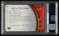 Duncan Keith Signed 2005-06 SP Authentic Sign of the Times #DK (PSA Encapsulated) at PristineAuction.com