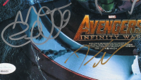 """Avengers: Infinity War"" 11x14 Photo Cast-Signed by (16) with Chris Hemsworth, Robert Downey Jr., Tom Holland, Mark Ruffalo, Dave Bautista (JSA LOA) at PristineAuction.com"
