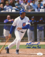 "Mark Grace Signed Cubs 8x10 Photo Inscribed ""Most Hits 90's"" (JSA COA) at PristineAuction.com"