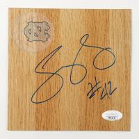 Sean May Signed North Carolina Tar Heels 6x6 Floor Piece (JSA COA) at PristineAuction.com