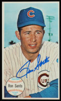Ron Santo Signed 1964 Topps Jumbo Trading Card (JSA COA) at PristineAuction.com