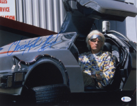 """Christopher Lloyd Signed """"Back to the Future Part II"""" 11x14 Photo (Beckett COA) at PristineAuction.com"""