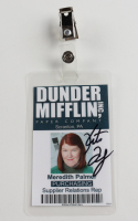 """Kate Flannery Signed """"The Office"""" Prop ID Badge (PSA COA) at PristineAuction.com"""