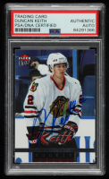 Duncan Keith Signed 2005-06 Fleer Ultra #211 RC (PSA Encapsulated) at PristineAuction.com