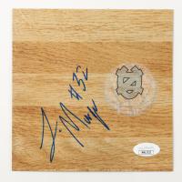 Luke Maye Signed North Carolina Tar Heels 6x6 Floor Piece (JSA COA) at PristineAuction.com
