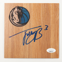 Trey Burke Signed Mavericks 6x6 Floor Piece (JSA COA) at PristineAuction.com