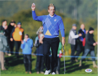 Luke Donald Signed 11x14 Photo (PSA COA) at PristineAuction.com