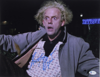 """Christopher Lloyd Signed """"Back to the Future"""" 11x14 Photo (Beckett COA) at PristineAuction.com"""