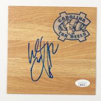 Wayne Ellington Signed North Carolina Tar Heels 6x6 Floor Piece (JSA COA) at PristineAuction.com