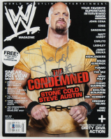 Stone Cold Steve Austin Signed 2007 Official WWE Magazine (Beckett Hologram) (See Description) at PristineAuction.com