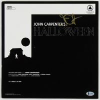 "John Carpenter Signed ""Halloween"" Vinyl Record Album (Beckett Hologram) at PristineAuction.com"