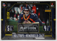2020 Panini Playbook Football Mega Box with (20) Cards at PristineAuction.com