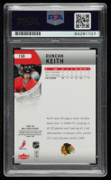 Duncan Keith Signed 2007-08 Fleer Ultra #159 (PSA Encapsulated) at PristineAuction.com