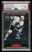 Duncan Keith Signed 2007-08 Black Diamond #17 (PSA Encapsulated) at PristineAuction.com