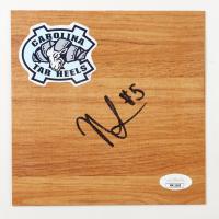 Nassir Little Signed North Carolina Tar Heels 6x6 Floor Piece (JSA COA) at PristineAuction.com