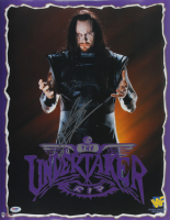 The Undertaker Signed WWF 16x20 Photo (PSA COA) at PristineAuction.com