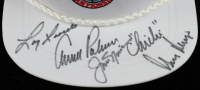 Nationwide Championship Golf Hat Signed by (5) with Arnold Palmer, Jack Nicklaus, Gary Player, Chi-Chi Rodriguez (Beckett Hologram) (See Description) at PristineAuction.com