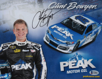 Clint Bowyer Signed NASCAR 8.5x11 Photo (Beckett COA) at PristineAuction.com