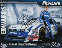 Carl Edwards Signed NASCAR 8.5x11 Photo (Beckett COA) at PristineAuction.com