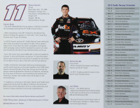 Denny Hamlin Signed NASCAR 8.5x11 Photo (Beckett COA) at PristineAuction.com