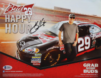 Kevin Harvick Signed NASCAR 8.5x11 Photo (Beckett COA) at PristineAuction.com