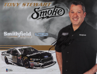 Tony Stewart Signed NASCAR 8.5x11 Photo (Beckett COA) at PristineAuction.com