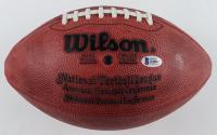 "John Riggins Signed Official NFL Game Ball Inscribed ""SB XVII MVP"" (Riggins Hologram & Beckett COA) (See Description) at PristineAuction.com"