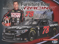 Martin Truex Jr. Signed NASCAR 8x10 Photo (Beckett COA) at PristineAuction.com