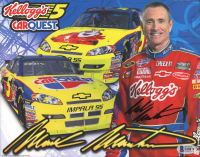 Mark Martin Signed NASCAR 8x10 Photo (Beckett COA) at PristineAuction.com