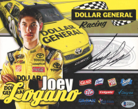 Joey Logano Signed NASCAR 8x10 Photo (Beckett COA) at PristineAuction.com