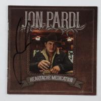 "Jon Pardi Signed ""Heartache Medication"" CD Cover Insert (JSA COA) at PristineAuction.com"
