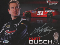 Kurt Busch Signed NASCAR 8x10 Photo (Beckett COA) at PristineAuction.com