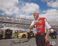 Leonard Wood Signed NASCAR 8x10 Photo (Beckett COA) at PristineAuction.com