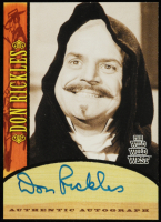 Don Rickles 2000 Best of The Wild Wild West Season One Autographs #A14 (Beckett COA) at PristineAuction.com