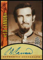 J.D. Cannon 2000 Best of The Wild Wild West Season One Autographs #A7 (Beckett COA) at PristineAuction.com