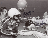 Cale Yarborough & Bobby Allison Signed NASCAR 8x10 Photo (Beckett COA) at PristineAuction.com