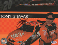 Tony Stewart Signed NASCAR 8x10 Photo (Beckett COA) at PristineAuction.com