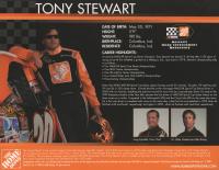 Tony Stewart Signed NASCAR 8x10 Photo (Beckett COA) at PristineAuction.com
